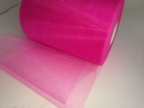 Tulle Roll | Shimmer Tulle E14 Shocking Pink